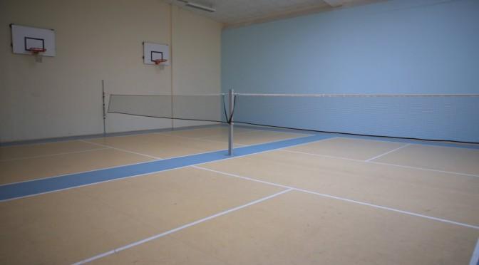 unsere Badmintonplätze